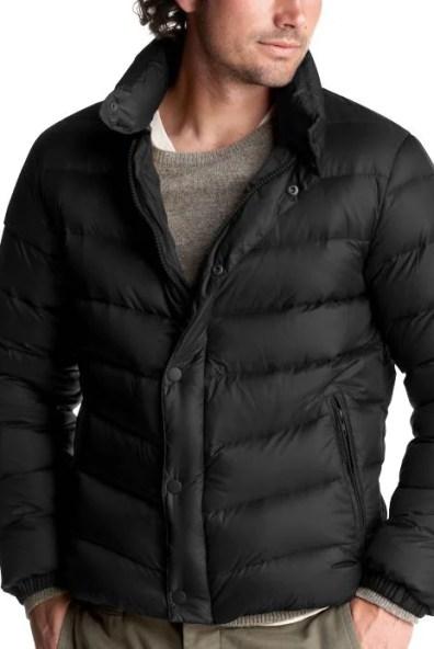 Gap Down Puffer Tall Coat