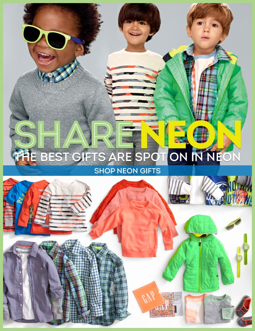 Share Neon. The best gifts are spot on in neon. Shop Neon Gifts