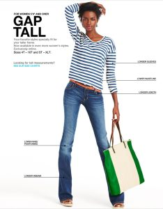 Gap tall also fit guide rh