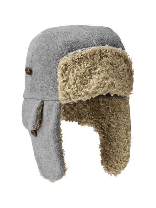 Gap Pro Fleece Cabin Hat Size S/M - b25 heather