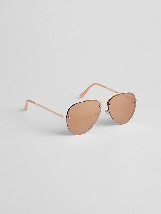 gap-rimless-aviator-sunglasses