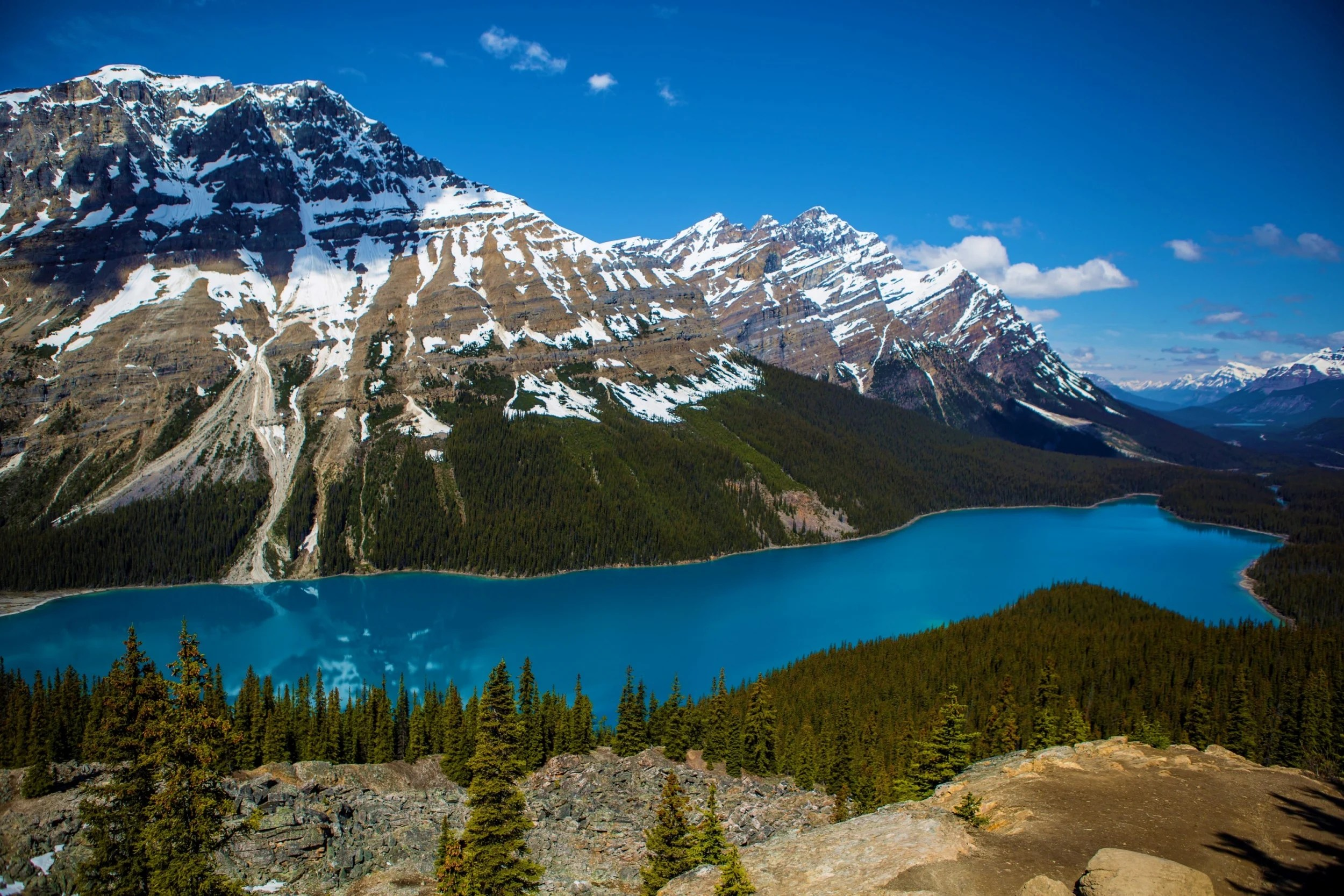 National Parks Of The Canadian Rockies