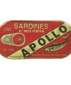 Apollo Sardine in Vegetable Oil