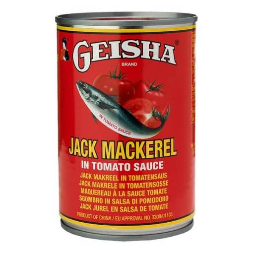 Geisha Jack Mackerel in tomato sauce