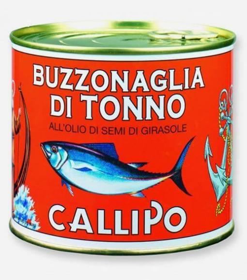 buzzonaglia di tonno callipo