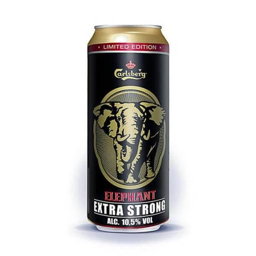 carlsberg elephant strong