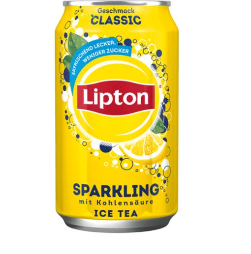 lipton sparkling ice tea 330cl