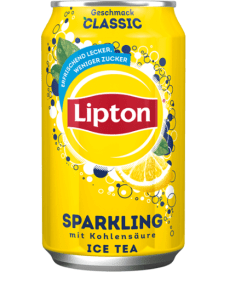 lipton sparkling ice tea 330cl