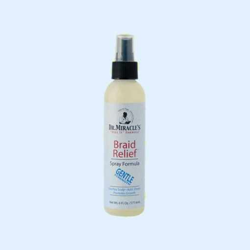 Dr. Miracles Braid Relief Spray Formula Gentle Strength 177ml
