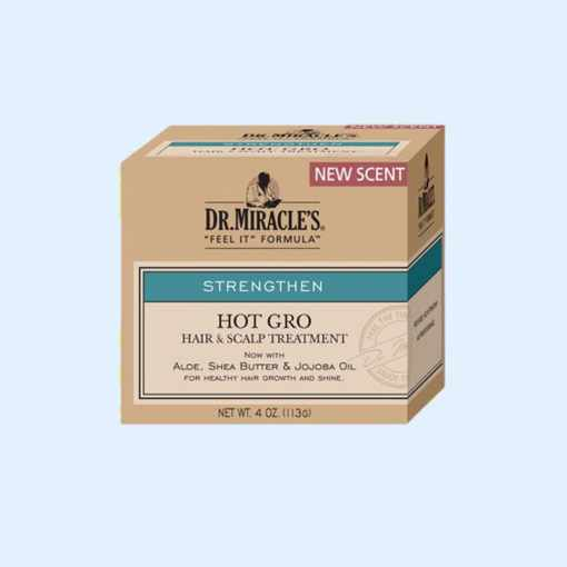 Dr. Miracle's Hot Gro Hair and Scalp Treatment Conditioner Strengthen Formula 11