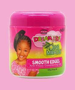 African Pride Dream Kids Olive Miracle Smooth Edges Anti Frizzy Conditioning Gel 170g