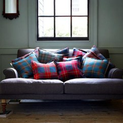 Tartan Chesterfield Sofa 30 Inches Deep Highland Fling | Gap Interiors Blog