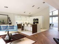 GAP Interiors - Modern open plan kitchen and living room ...