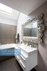 Ornate Bathroom Mirror - Bathroom Design Ideas