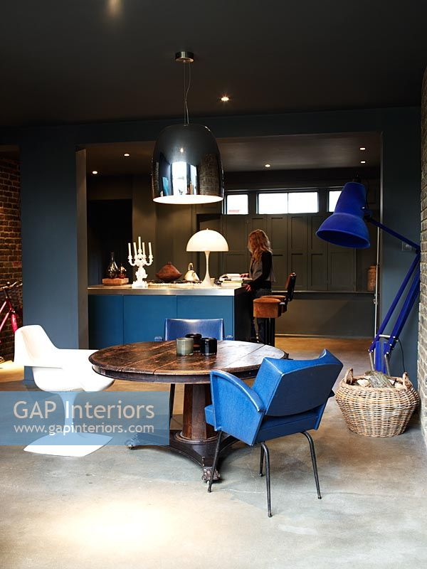 GAP Interiors  Abigail Ahern in her eclectic kitchen