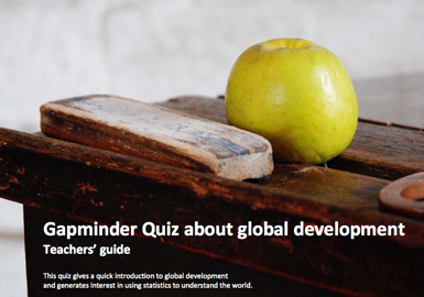 Use this quiz to introduce subjects such as global health, the effects of HIV, population growth and carbon dioxide emissions, or as starting point to discuss what development is. What do the indicators in these quizzes say about the world?