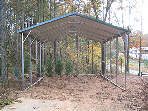 how to build a carport