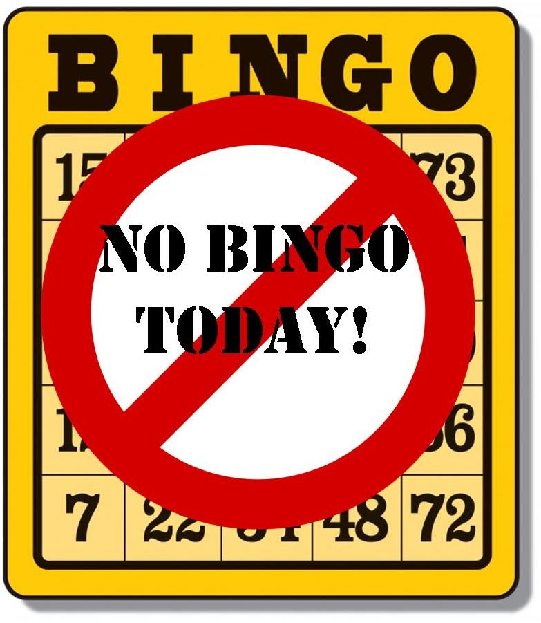 CANCELLED Weekday BINGO CANCELLED