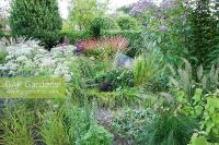 GAP Gardens - The gravel garden is planted with a range of ...