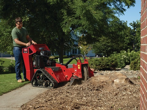 rental stump grinders branch chippers