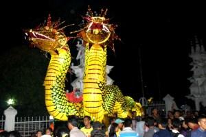 Telong Naga Dalam Festival Tabut Bengkulu (dyo)