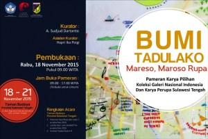 Ilustasi foto poster Pameran Bumi Tadulako- GNI (ist)