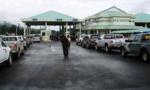 Foto ilustrasi: Pos Pemeriksaan Lintas Batas Aruk, di Kecamatan Sajingan Besar, Kabupaten Sambas, Kalimantan Barat. (ist)