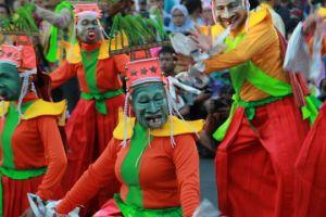 Foto:  Saahs atu peserta dalamFestival Kesenian Yogyakarta ke-28 (ist)