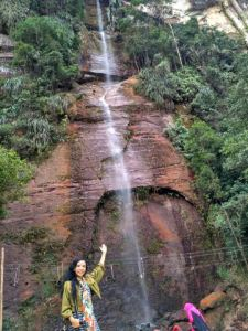 Foto: Air terjun Sarasah Bunta. (koleksi Kirana Kejora)
