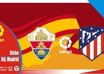 Prediksi Liga Spanyol: Elche vs Atletico Madrid - 1 Mei 2021