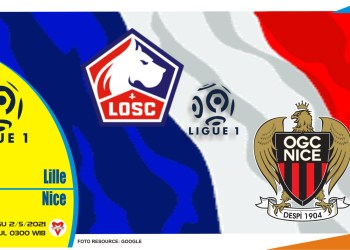 Prediksi Liga Prancis: Lille vs Nice - 2 Mei 2021