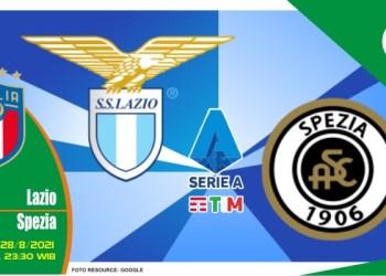 Prediksi Lazio vs Spezia - Liga Italia 28 Agustus 2021