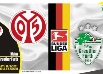 Prediksi Mainz vs Greuther Furth - Liga Jerman 28 Agustus 2021
