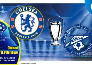 Prediksi Chelsea vs Zenit Petersburg - Liga Champions 15 September 2021