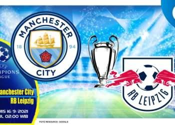 Prediksi Manchester City vs RB Leipzig - Liga Champions 16 September 2021