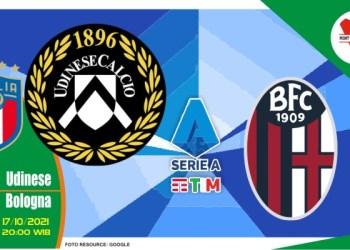 Prediksi Udinese vs Bologna, Serie A Italia 17 Oktober 2021