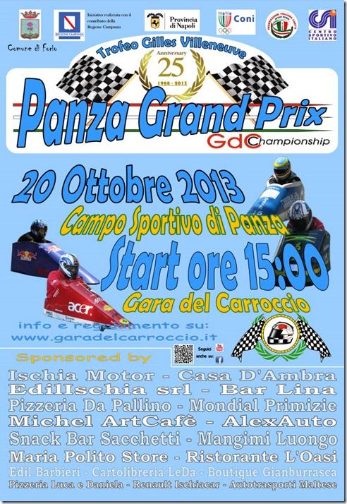 2013 Locandina Panza Grand Prix