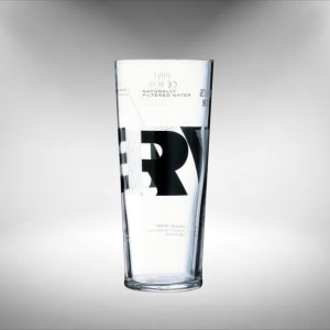 Becks Vier Beer Glass