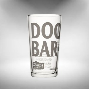 Doom Bar Beer Glass