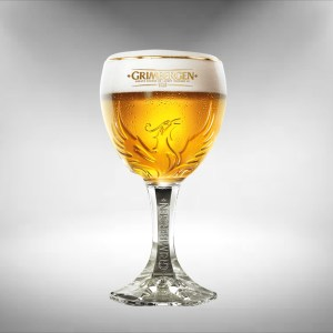 Grimbergen Chalice Beer Glass