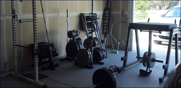 Building A Garage Gym Tips And Ideas Including Equipment Suggestions