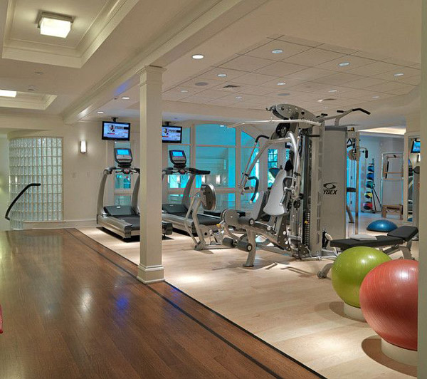 Home Gym Design Ideas Basement: Garage Gyms Inspirations & Ideas Gallery Pg 4