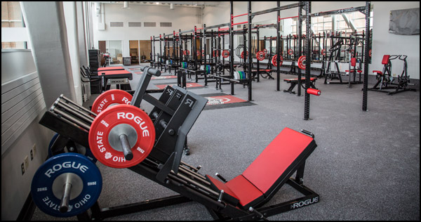 Home gym ideas garage the fully equipped rogue garage gym is super