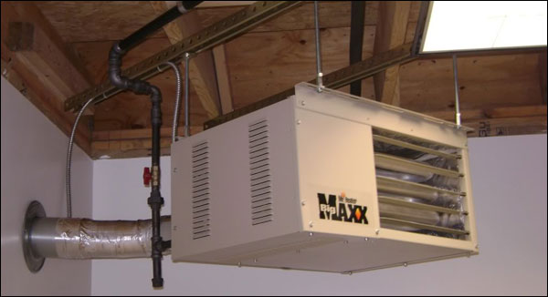Attic Fan With Thermostat Wiring Diagram Heating Your Garage Gym This Winter Brrrrrr