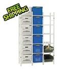 Bin Warehouse 18 File Box Storage System