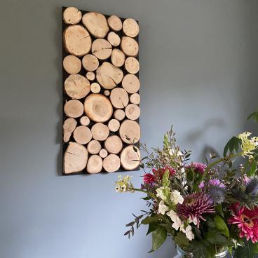 Wandpaneel boomstam