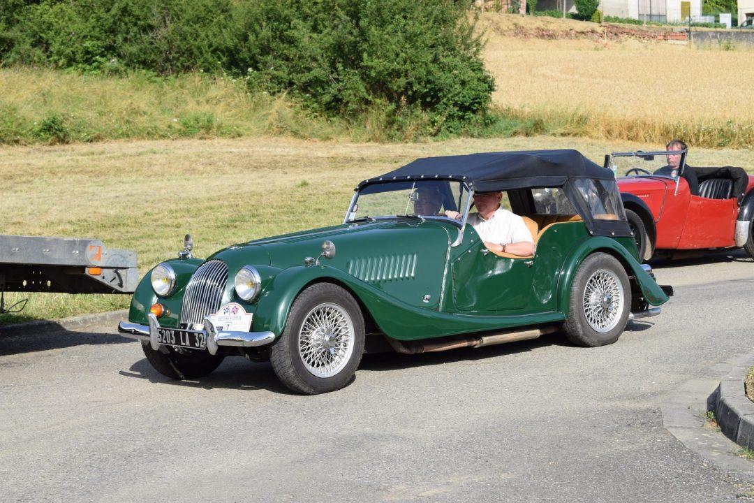 Morgan 4/4 Classic Car Rally
