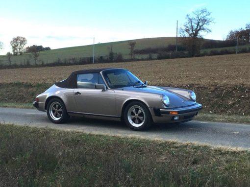 FOR SALE 1984 Porsche 911 Carrera