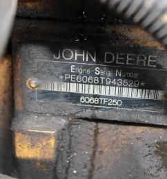 643 john deere 650d engine isuzu 6wg1x 6wg1xysa02 se502072 6wg1xysa02 3358  [ 1600 x 1066 Pixel ]