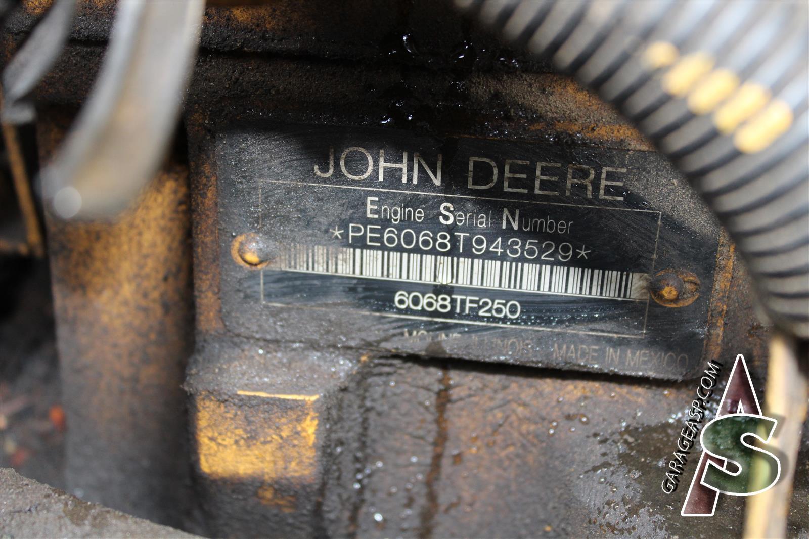 hight resolution of 643 john deere 650d engine isuzu 6wg1x 6wg1xysa02 se502072 6wg1xysa02 3358